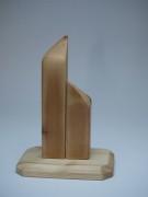 """Skulptur """"aufstrebend"""" Holz"""